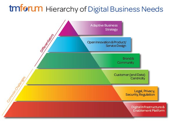 Hierarchy of Digital Business Needs