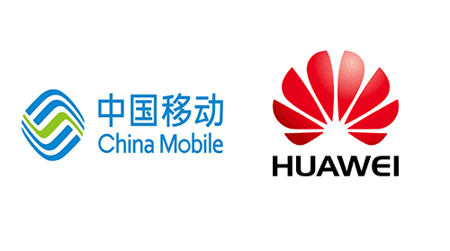 China Mobile & Huawai Logo