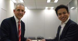 SoftBank celebrates its TM Forum membership.