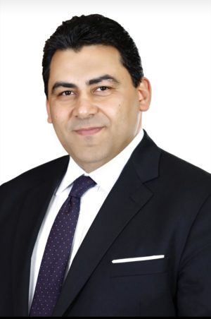Adel Hamed, Telecom Egypt's Managing Director and Chief Executive Officer